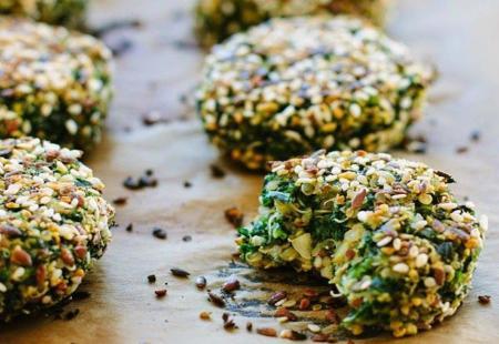 croquetas de quinoa y espiinaca